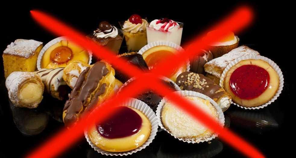 Лечение грибковых заболеваний - Убрать сладкое
