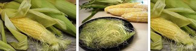 Кукурузные рыльца на фото