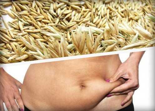Овес для похудения и убрать живот