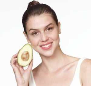 авокадо для лица