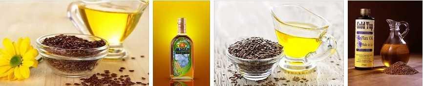 льняное масло разное