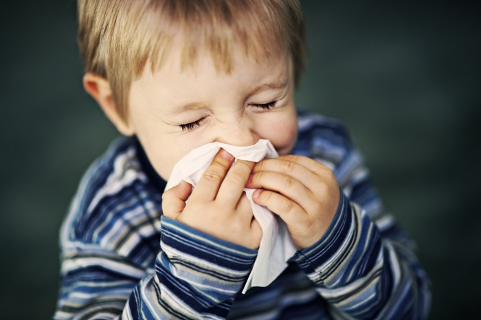 у ребенка постоянно заложен нос