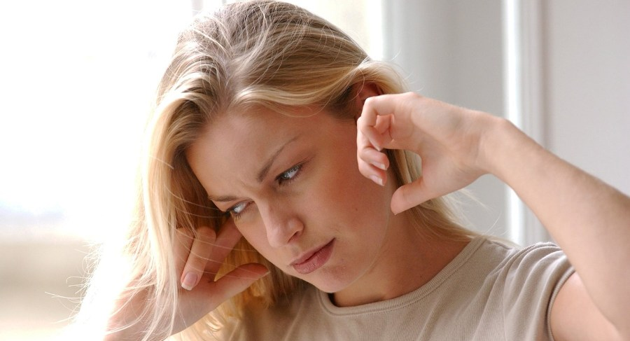 Заложенность уха при простуде