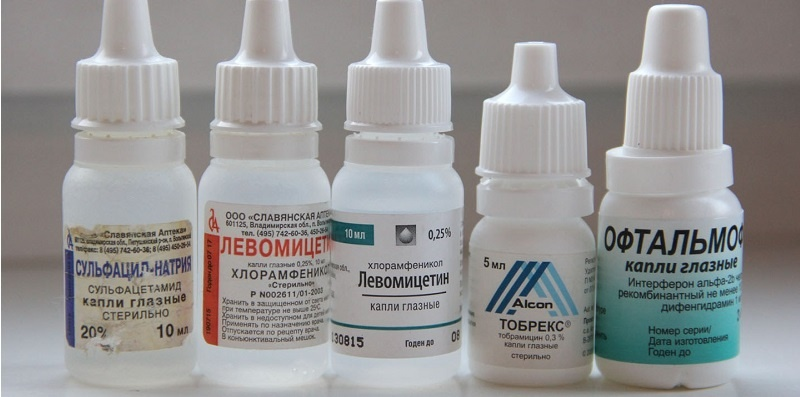 лекарственные препараты от ячменя на глазу