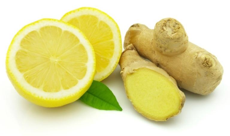 Лимон и имбирь для похудения
